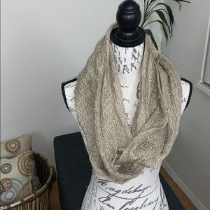 Beige/Taupe Infinity Scarf